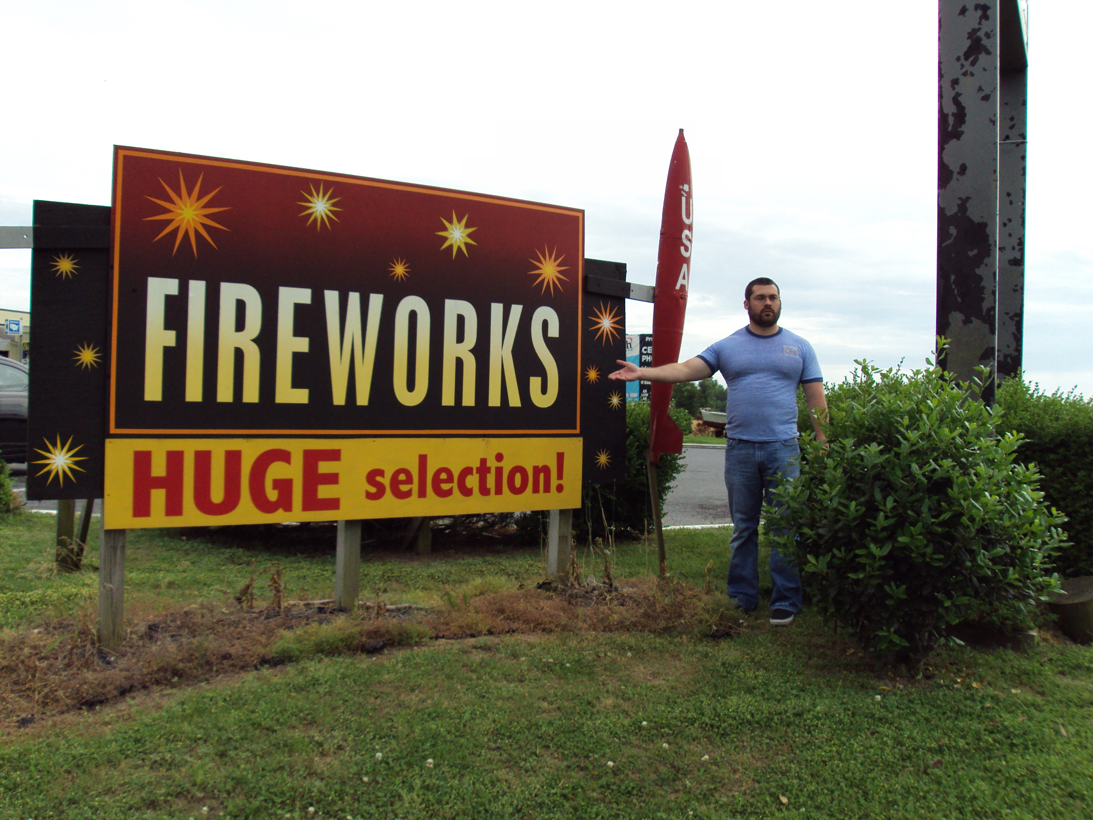 They have fireworks in the south