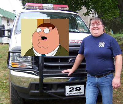 Female Peter Griffin