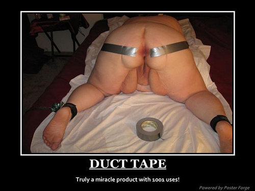duct tape anyone?