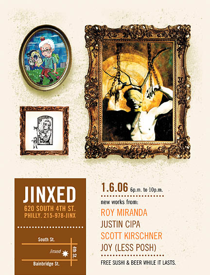Opening @ JINXED this Friday!!