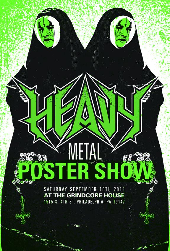 grindcore house art show