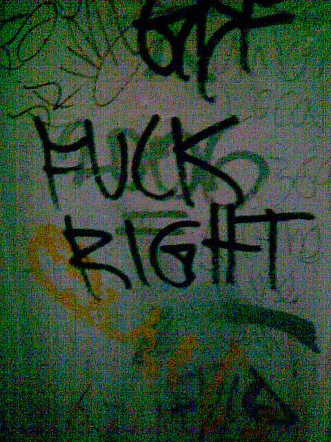 fuck right