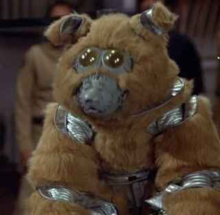 The dog from battlestar galactica