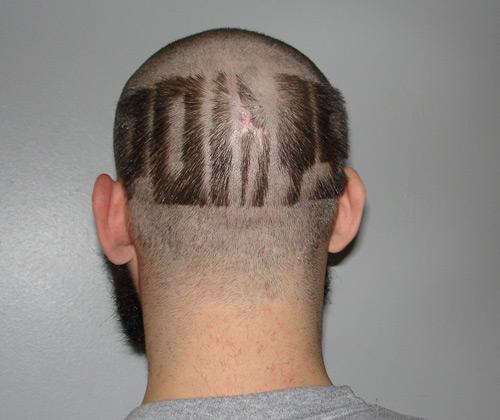 Haircut, no bike