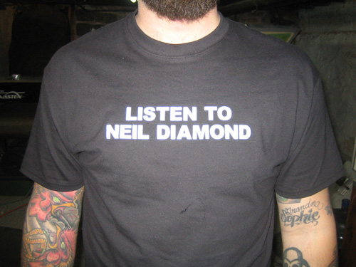 forever in neil diamond shirts