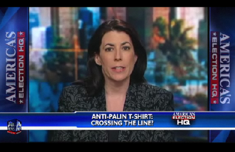 Crossing the Line? Palin Shirt
