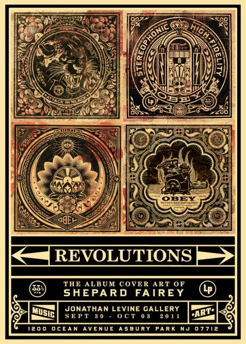 shepard fairey art show this thursday