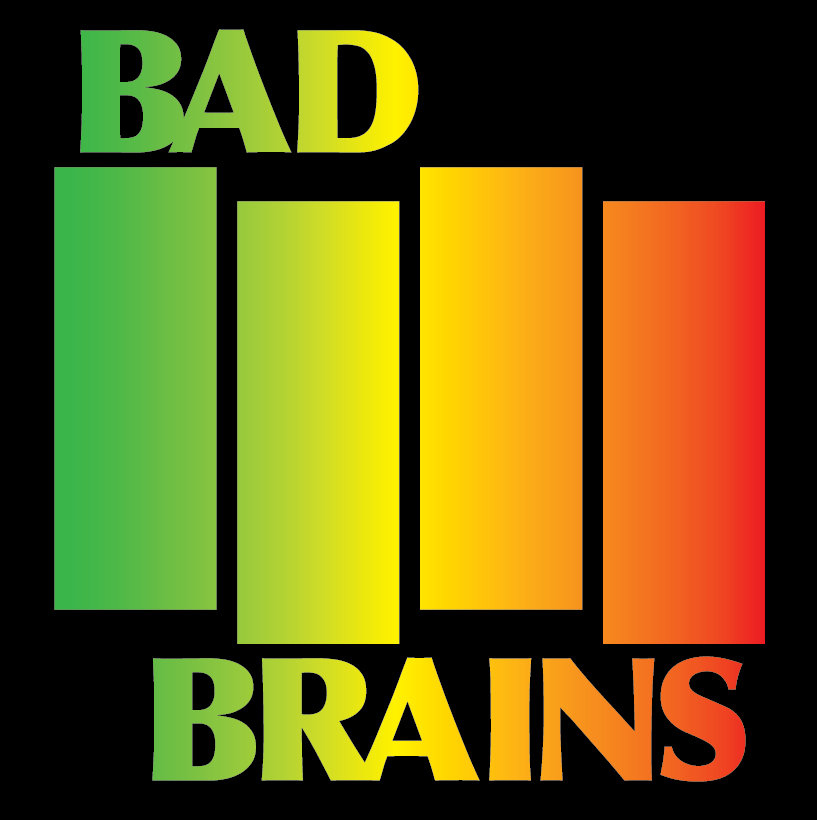 bad brains - black flag - rasta fade shirt