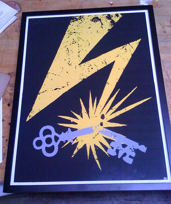 Bad Brains Key Poster now for sale