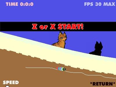 Cat Flip Game