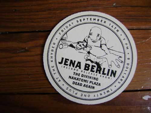 jena berlin cd release show!