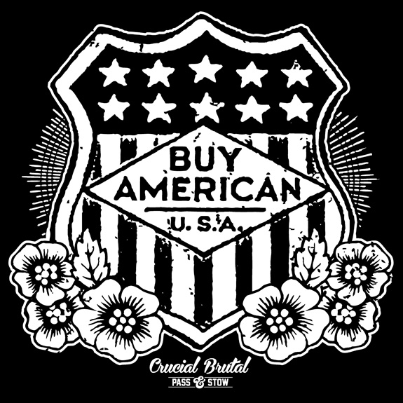 buy american badge