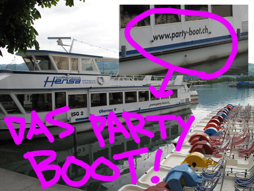 party bus??? party boot!!!
