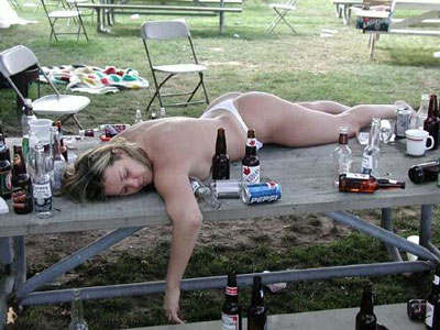 i got white girl drunk last night