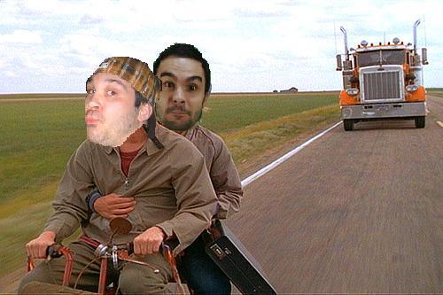 Richie and Mj riding to Colorado
