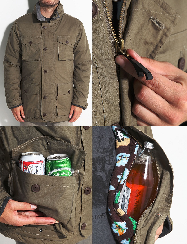 Enjoi Beer Hunter Coat