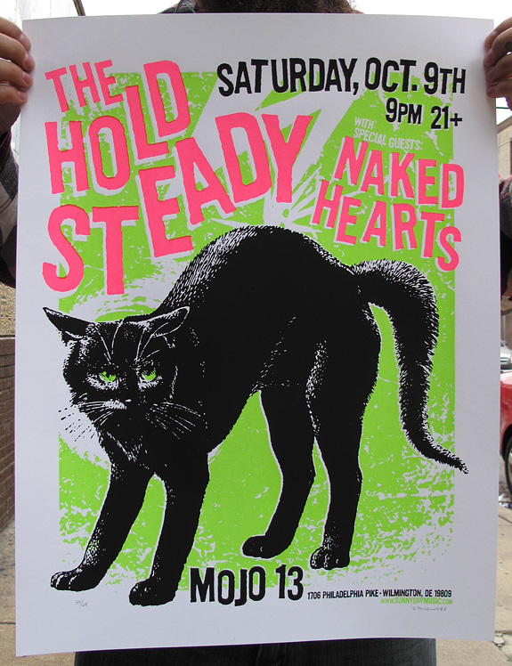 hold steady posters for sale