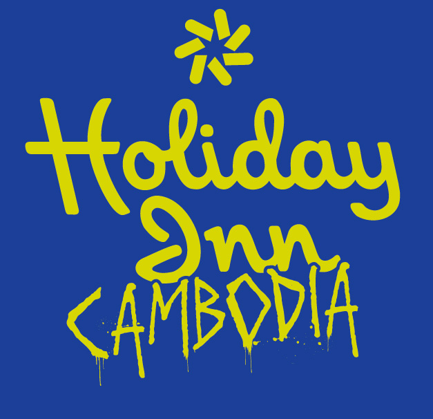 holiday inn cambodia t-shirt