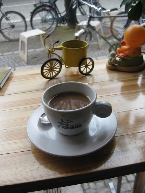 bike shop/cafe