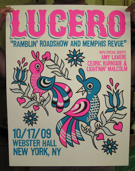 LUCERO posters now for sale