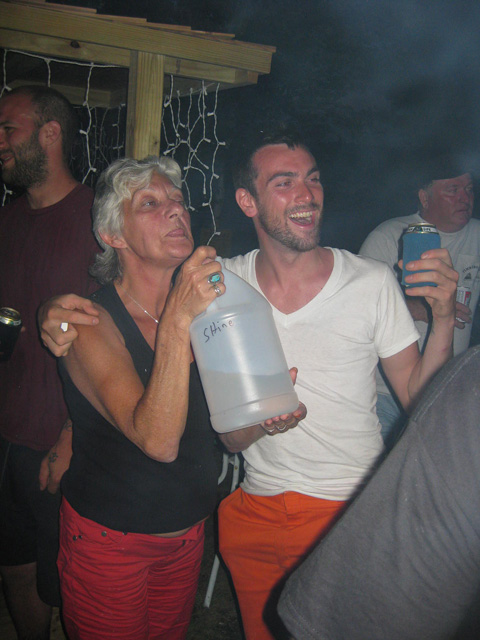 mike green and moonshine lady