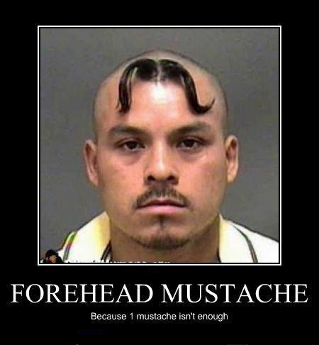 Get better mustache wax for your forehead