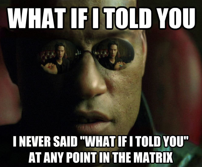 The Matrix Is Real