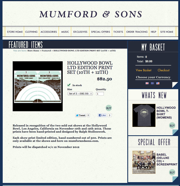 mumford and sons - hollywood bowl