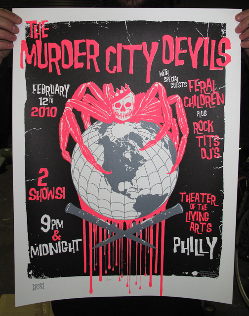 murder city posters still available