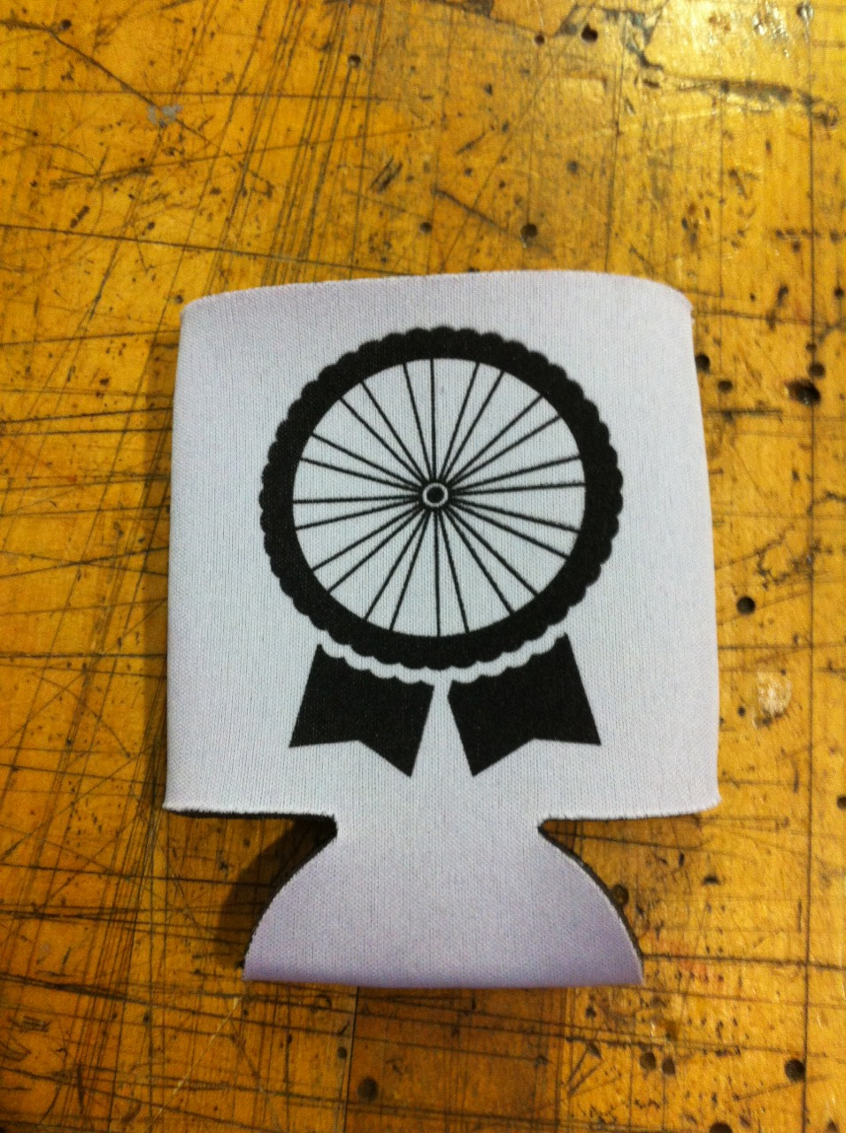 pbr bike wheel koozies