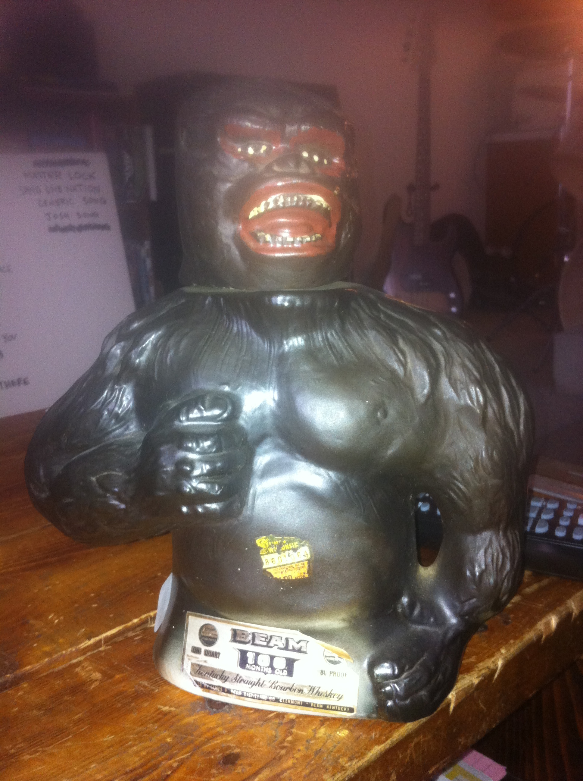 king kong jim beam decanter