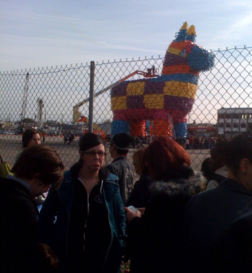 giant pinata letdown