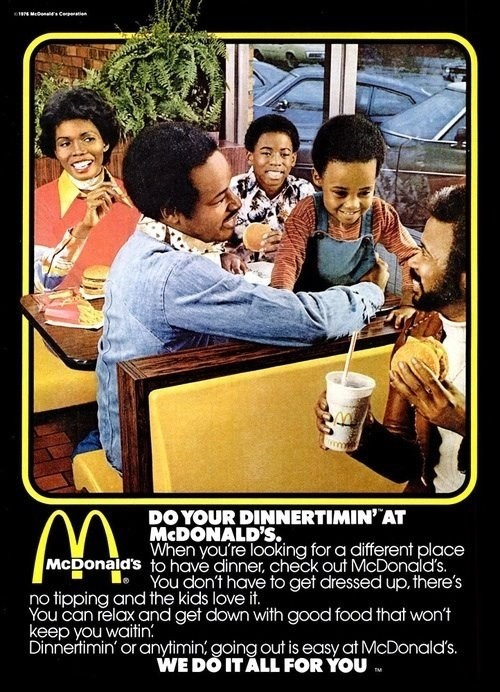 If you love racists 70's McDonalds ads then...