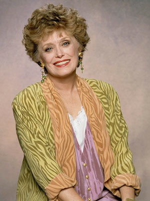 THE WHORE GOLDEN GIRL DIED...RUE MCCLANAHAN RIP