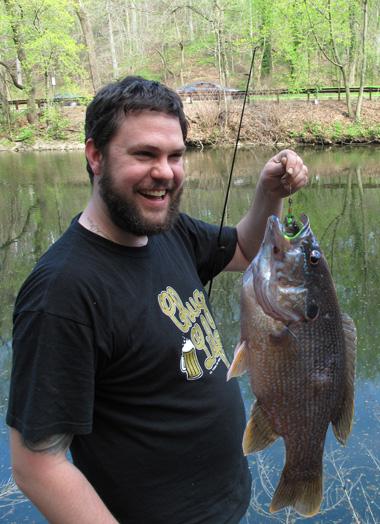 shaky caught a big ass fish
