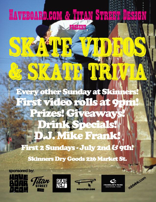 Skate Quizzo & Videos