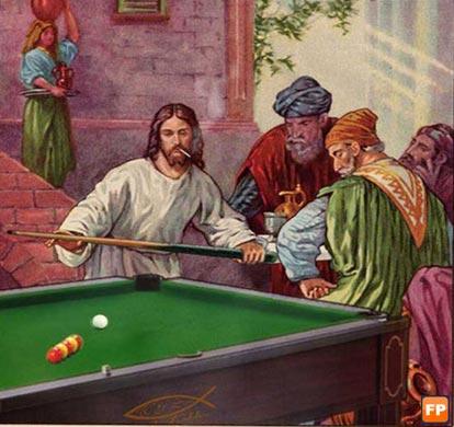 Jesus was a hustler