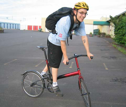 fixed gear travel size bike