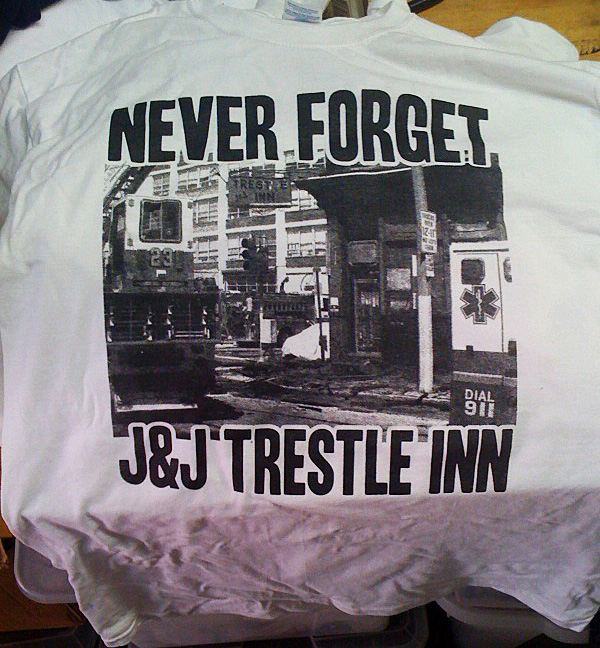 never forget - the trestle inn