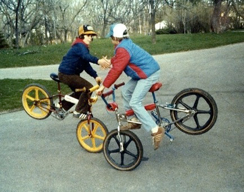 bmx was cooler back in the day