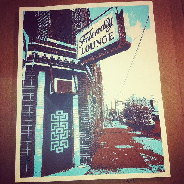 friendly lounge art prints