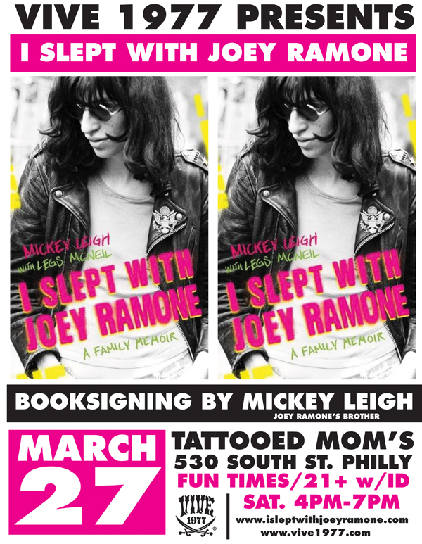 this saturday night at tattooed moms