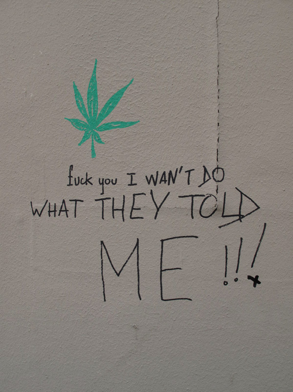 some graffiti i saw in paris