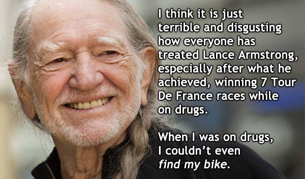 I hear ya, Willie